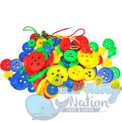 Buttons String Building Blocks