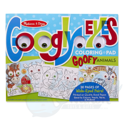 Googly Eyes Colouring Pads