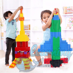Bullet Shaped Building Blocks