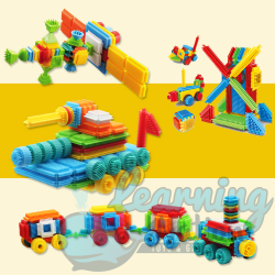 Bristle Building Blocks