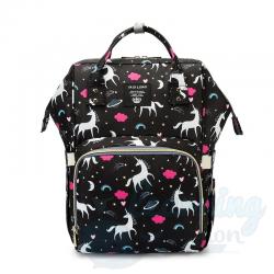 Mommy Bag Black Unicorn