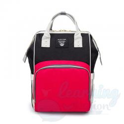 Mommy Bag Red/Black